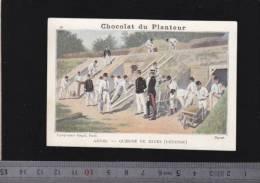 Chromo Circa1900 - Chocolat Du Planteur - Goupil - Militaire - Genie, Guerre De Mines - Other
