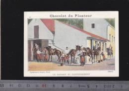 Chromo Circa1900 - Chocolat Du Planteur - Goupil - Militaire - 29 Pansage Chevaux - Other