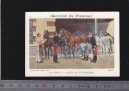 Chromo Circa1900 - Chocolat Du Planteur - Goupil - Militaire - 26 Forge Visite Veterinaire - Other