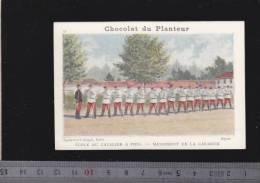 Chromo Circa1900 - Chocolat Du Planteur - Goupil - Militaire - 24 Cavalier A Pied Carabine - Other