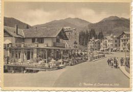 SAN MARTINO Di CASTROZZA (TRENTO) - Caffe' Centrale E Centro (animata) - Trento