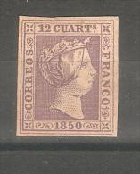 Sello Nº 2 España Falso. - 1850-68 Kingdom: Isabella II