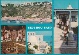 Tunez---Sidi Bou Said---Le Port  Et Les Cafes--a, Francia - Tunisia