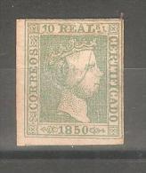 Sello Nº 5 España Falso. - 1850-68 Kingdom: Isabella II