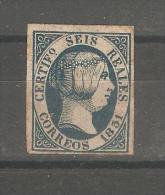 Sello Nº 10 España Falso. - 1850-68 Kingdom: Isabella II