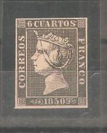 Sello Nº 1  España Falso.- - 1850-68 Kingdom: Isabella II
