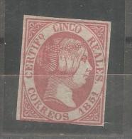 Sello Nº 9  España Falso. - 1850-68 Kingdom: Isabella II