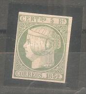 Sello Nº 15  España Falso. - 1850-68 Kingdom: Isabella II