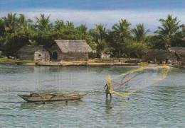 Asia--Sri Lanka--Fishing In The Lagoon--a, Francia - Sri Lanka (Ceilán)