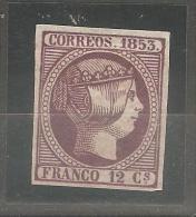 Sello Nº 18  España Falso. - 1850-68 Kingdom: Isabella II