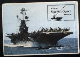 Warships-Intrepid Sea Air Space Museum-unused,perfect Shape - Guerra