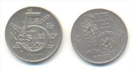 CECOSLOVACCHIA 5 KORONE  ANNO 1991 - Cecoslovacchia