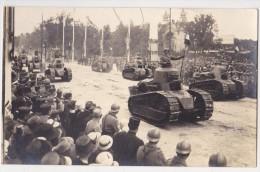 Fêtes De La Victoire - 14 Juillet 1919 -  CP Photo - Les Chars D'Assaut - Autres