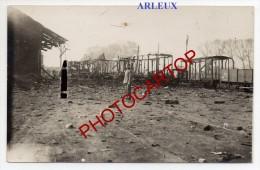 Gare-ARLEUX-Attaque Aerienne Du 15-5-18-Train-Carte Photo Allemande-Guerre14-18-1WK-Militaria-Frankreich-France-59- - Arleux