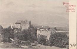 AK LIECHTENSTEIN VADUZ Gruss Aus Schloss Vaduz Etat Parfait Vintage 1904 - Liechtenstein