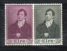 W1945 - IRLANDA 1952 , Serie N. 116/117  ***  MNH Moore - 1949-... Repubblica D'Irlanda