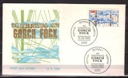 Allemagne Fédérale - First Day Cover (FDC) - Gorch Fock - Navigation - Bateaux - [7] Federal Republic