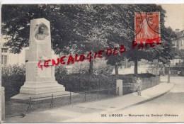 87 - LIMOGES - MONUMENT DU DOCTEUR CHENIEUX ANCIEN MAIRE - Limoges