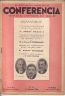 CONFERENCIA N� IV � 1er f�vrier 1936 -Journal de l�universit� des Annales