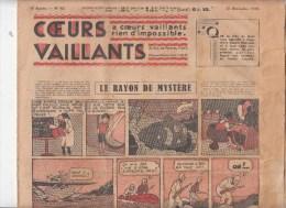 Journal Coeurs Vaillants,   N� 52 du 27 d�cembre 1936,Jo et Zette , Tintin et Milou en extr�me Orient