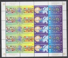Bosnia/Herzegovina Sarajevo 2005 50Y Europa  4v In Sheetlet Totally Misplaced Perforation ** Mnh (F2545) - Europese Gedachte