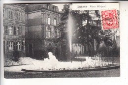 L 9200 DIEKIRCH, Place Wirtgen, Hotel Des Ardennes, 1907 - Diekirch