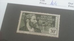 LOT 233629 TIMBRE DE COLONIE AEF NEUF* N�104 VALEUR 16 EUROS