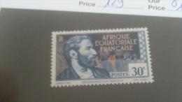 LOT 233635 TIMBRE DE COLONIE AEF NEUF* N�129 VALEUR 13 EUROS