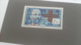 LOT 233638 TIMBRE DE COLONIE AEF NEUF* N�165 VALEUR 21 EUROS