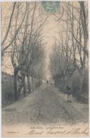 FRANCE CPA 13 MOLLEGES - Avenue De La Gare - France