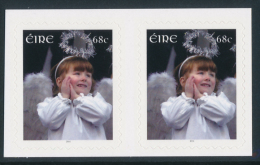 IRELAND/Irland/Eire 2014 Christmas Self/Adhesive Pair** - 1949-... Repubblica D'Irlanda