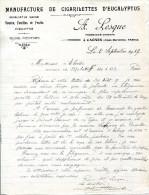 06.ALPES MARITIMES.CAGNES.MANUFACTURE DE CIGARILETTES D'EUCALYPTUS.A.LESQUE PHARMACIEN-CHIMISTE. - France
