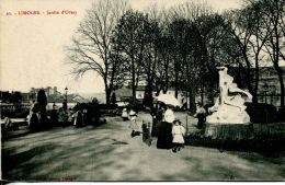 N°41276 -cpa Limoges -jardin D'Orsay- - Limoges