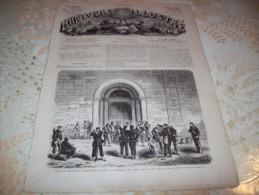 L�UNIVERS ILLUSTRE 14 JUILLET 1866 :  VUE GENERALE DE MANTOUE - HULANS PRUSSIENS - FUSIL A AIGUILLE