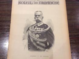 1892 HUMBERT 1er ROI D'ITALIE - LE TOMBEAU DE CHATEAUBRIAND - MIGRANTS JUIFS A NEW YORK - PARACHUTE CAPAZZA