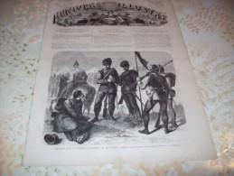 L�UNIVERS ILLUSTRE 18 JUILLET 1866 :  CATHEDRALE DE WORMS - BERLIN - TYROL -PROMENADE DU PAPE
