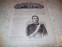 L�UNIVERS ILLUSTRE 21 JUILLET 1866 :  CAVALIER DE L'AFGHANISTAN - TRIESTE - VENETIE - PRINCE DE ROUMANIE