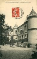 AUFFREVILLE Pres Mantes  Le Chateau 1913 - Mantes La Jolie