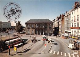 ¤¤  -  3215  -  NANTES   -  La Place Du Commerce  -  Bus , Autocar   -  ¤¤ - Nantes
