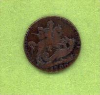 ROYAUME UNI - Jeton « Pro Missuri » - Half Penny 1705 - Royaume-Uni
