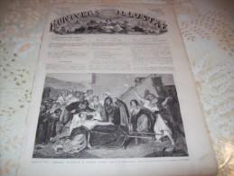 L�UNIVERS ILLUSTRE 1 AOUT 1866 : BUCAREST - MORAVIE - VOLONTAIRES GARIBALDIENS - GREAT-EASTERN