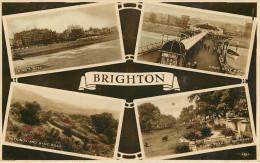 Royaume-Uni - Angleterre - Sussex - Brighton - Multiview - Multivues - 2 Scans - état - Brighton