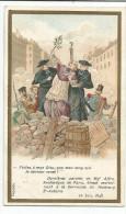 CHROMOS CHICOREE EMILE BONZEL - HISTOIRE - MORT Mgr AFFRE (1848) - Chromo