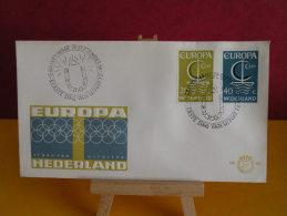 FDC - Pays Bas/Nederland, Europa CEPT - Gravenhage 26.9.1966 - 1er Jour, - Europa-CEPT