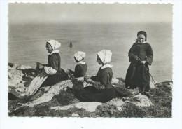 CPM - Scènes Et Types Bretons - Tricoteuse à La Pointe Du Raz - Plogoff