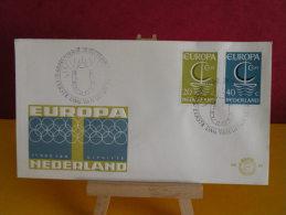 FDC - Pays Bas/Nederland, Europa CEPT - Gravenhage 26.9.1966 - 1er Jour, - FDC
