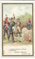 CHROMOS CHICOREE EMILE BONZEL - HISTOIRE - NAPOLEON A MONTEREAU (1814) - Chromo