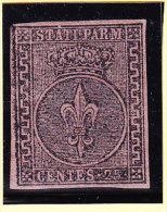 Parma 1852 Mi.#4 * Mit Falz 25 Cent - Parma