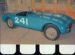 « GORDINI 1954 » Plaquette Métallique Réalisée Par Le Chocolat COOP  (1964) - Cars