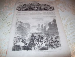 L�UNIVERS ILLUSTRE 8 AOUT 1866 : PRAGUE - PRUSSIENS - AUTRICHE